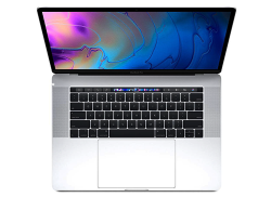 MacBook Pro Touch Bar - Silver 15.4