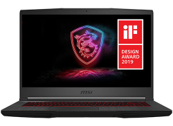 MSI Gaming Intel Core i7-9750H, NVIDIA GeForce GTX 1650 Ti 4GB, 512GB SSD Storage, 8GB
