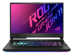 Asus Rog Gaming Intel Core i7-9750H, NVIDIA GeForce GTX 1650 Ti 4GB, 512GB SSD, 8GB 144Hz